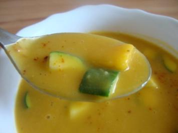 Exotische Süßkartoffelsuppe - Rezept