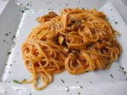 Spaghetti an Steinpilzragout - Rezept
