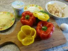 Paprika gefüllt mit Sauerkraut - Rezept