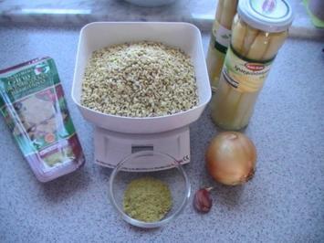 Weichweizen-Spargel-Risotto - Rezept