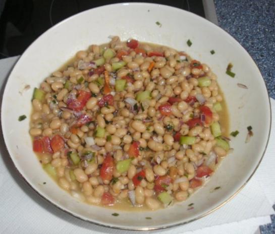 Weiße Bohnen-Salat - Rezept