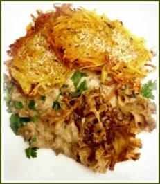 Krause Glucke mit Kartoffelrösti - Rezept