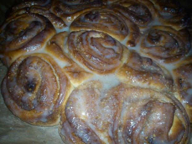 Zimt Schnecken Kuchen - Rezept - Bild Nr. 2