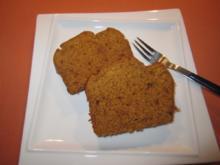 Kürbiskuchen mt feinen Gewürzen - Rezept