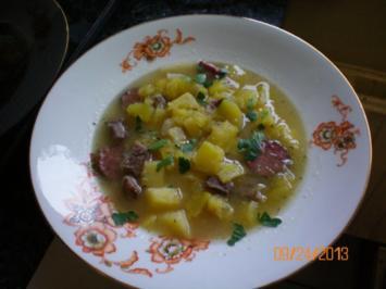 Kürbissuppe herbstlich - Rezept