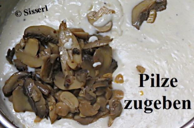 Pilz - Bechamelsoße - Rezept - Bild Nr. 10