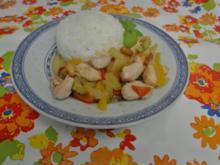 Mariniertes Huhn mit Erdnüssen - Rezept