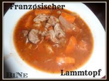BiNe` S FRANZØSISCHER LAMMTOPF - Rezept