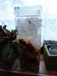 Rezept: Getränk: Pfirsichlikör