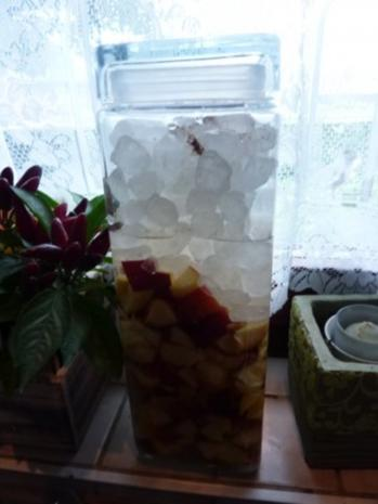 Getränk: Pfirsichlikör - Rezept