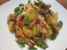 Pfifferling-Kartoffeln - Rezept