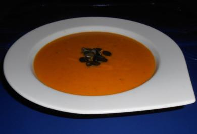Cremige Kürbissuppe - Rezept