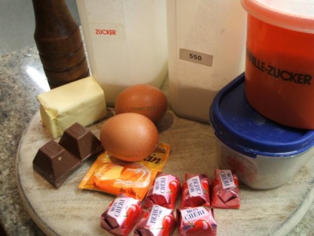 Backen Mon Cheri Muffins Rezept Mit Bild Kochbar De