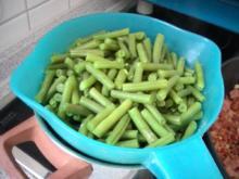 Schinkenbohnen aus dem Backofen - Rezept