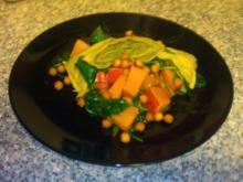 Maultaschen mit Kürbis und Spinat - Rezept