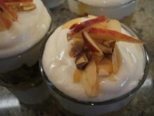 """Dessert: Sahnequark """"Apfelstrudel"""" - Rezept"""