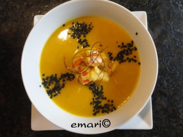 Orientalische Kürbis Creme Suppe - Rezept - Bild Nr. 18