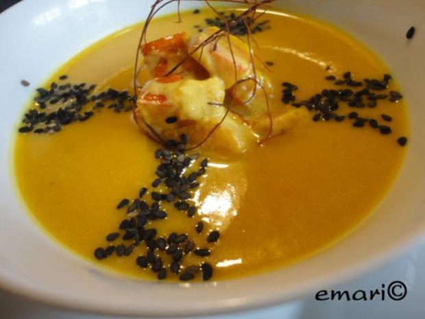Orientalische Kürbis Creme Suppe - Rezept - Bild Nr. 2