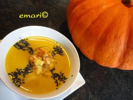 Orientalische Kürbis Creme Suppe - Rezept