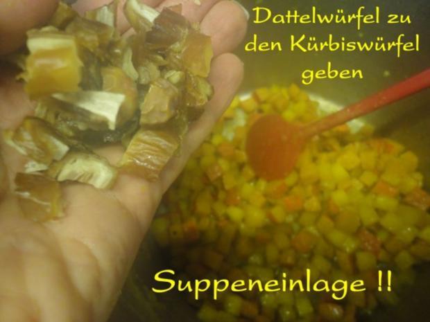 Orientalische Kürbis Creme Suppe - Rezept - Bild Nr. 14