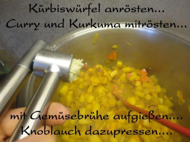 Orientalische Kürbis Creme Suppe - Rezept - Bild Nr. 8
