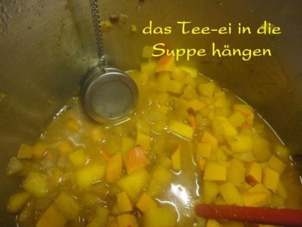 Orientalische Kürbis Creme Suppe - Rezept - Bild Nr. 9
