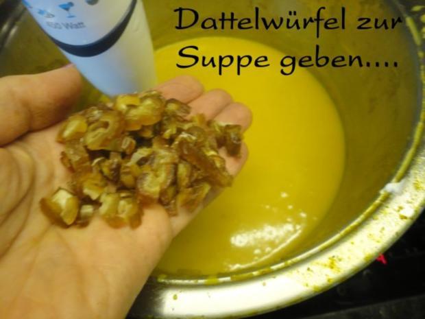 Orientalische Kürbis Creme Suppe - Rezept - Bild Nr. 12