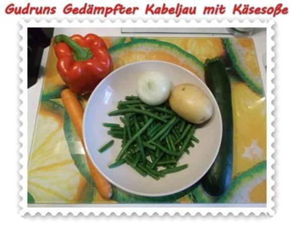 Fisch: Gedämpfter Kabeljau mit Käsesoße - Rezept - Bild Nr. 3