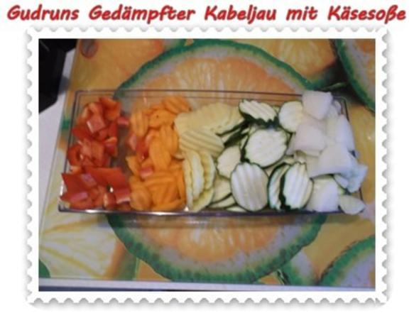 Fisch: Gedämpfter Kabeljau mit Käsesoße - Rezept - Bild Nr. 4