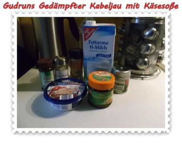 Fisch: Gedämpfter Kabeljau mit Käsesoße - Rezept - Bild Nr. 8