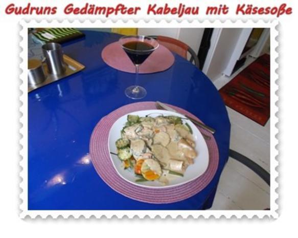 Fisch: Gedämpfter Kabeljau mit Käsesoße - Rezept - Bild Nr. 15