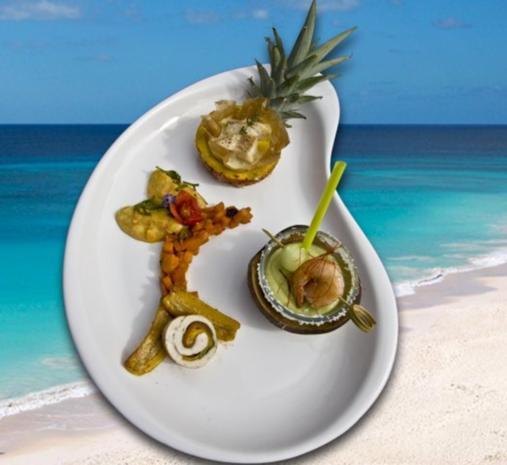"""""""Kulinarisches Quintett der bunten Inseln"""" ( Cooking Cup 2012 ) - Rezept"""