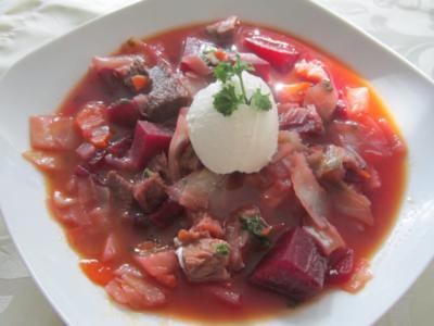 Borschtsch-Eintopf - Rezept