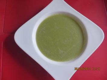 Suppe: Rosenkohlcremesuppe - Rezept