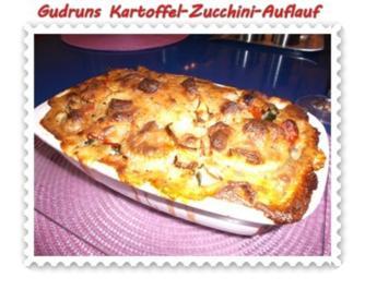 Rezept: Kartoffeln: Kartoffel-Zucchini-Auflauf