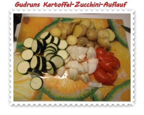 Kartoffeln: Kartoffel-Zucchini-Auflauf - Rezept - Bild Nr. 5