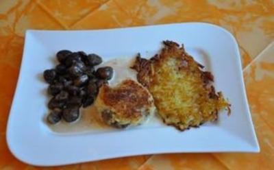 Kochen:Schweinefilet mit Meerrettichkruste glasierten Maronen und Cognacsoße - Rezept