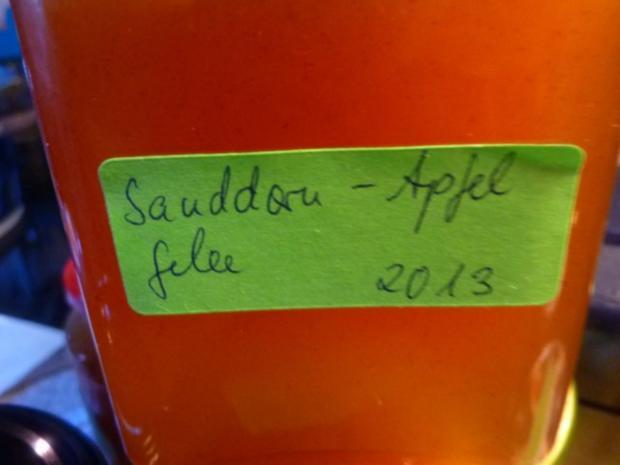 Marmelade: Sanddorn-Apfel-Gelee - Rezept - Bild Nr. 2