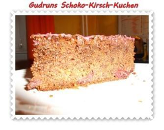 Rezept: Kuchen: Schoko-Kirsch-Kuchen