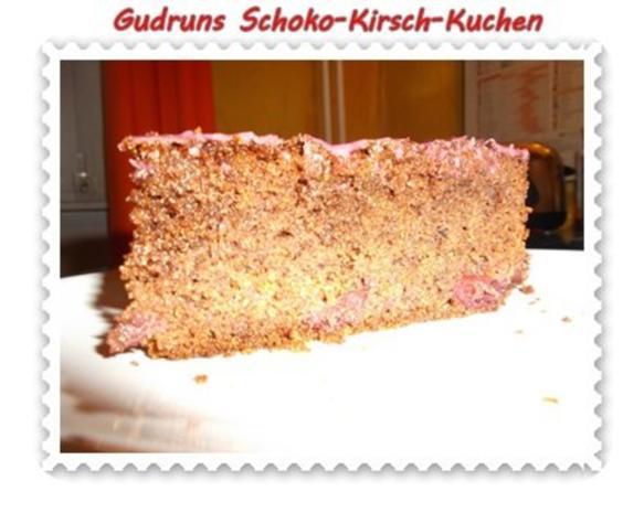 Kuchen: Schoko-Kirsch-Kuchen - Rezept