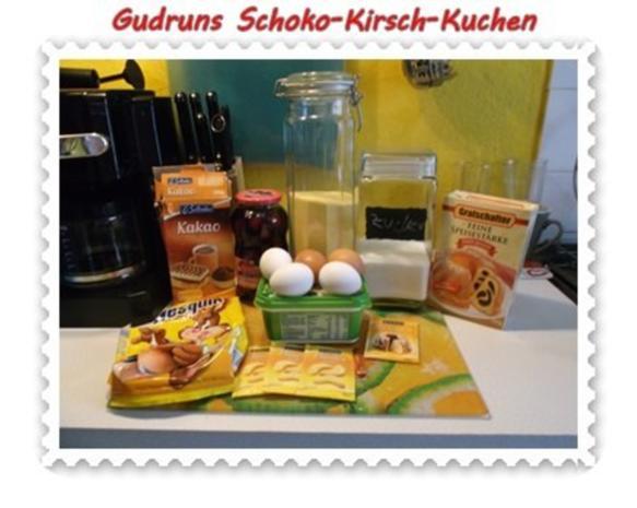 Kuchen: Schoko-Kirsch-Kuchen - Rezept - Bild Nr. 2