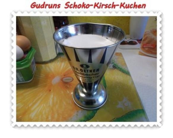 Kuchen: Schoko-Kirsch-Kuchen - Rezept - Bild Nr. 3