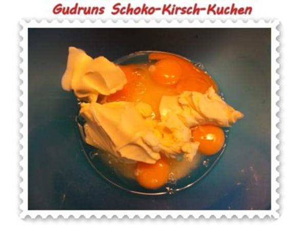 Kuchen: Schoko-Kirsch-Kuchen - Rezept - Bild Nr. 4