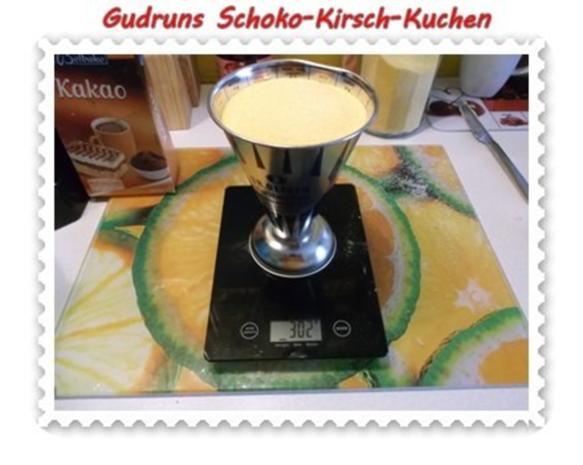 Kuchen: Schoko-Kirsch-Kuchen - Rezept - Bild Nr. 5