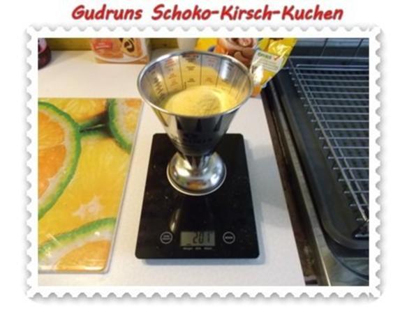 Kuchen: Schoko-Kirsch-Kuchen - Rezept - Bild Nr. 6