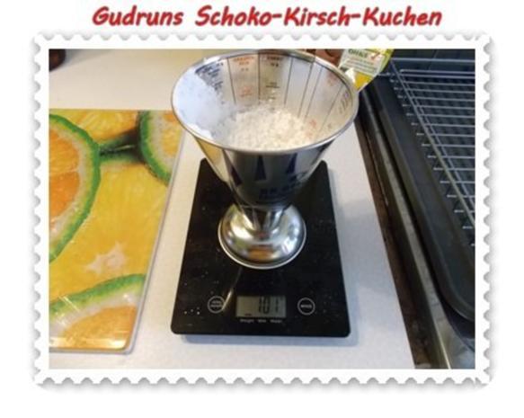Kuchen: Schoko-Kirsch-Kuchen - Rezept - Bild Nr. 7