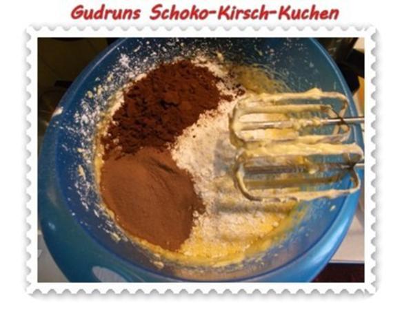Kuchen: Schoko-Kirsch-Kuchen - Rezept - Bild Nr. 8