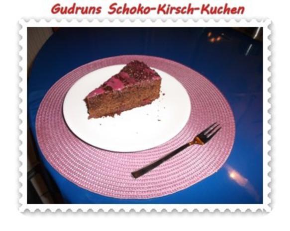 Kuchen: Schoko-Kirsch-Kuchen - Rezept - Bild Nr. 17