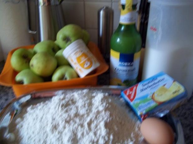 gedeckter Apfelkuchen frisch gehext - Rezept - Bild Nr. 2