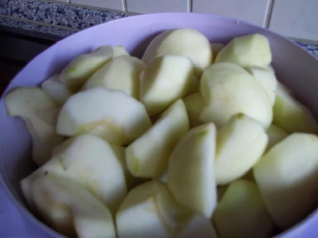 gedeckter Apfelkuchen frisch gehext - Rezept - Bild Nr. 4